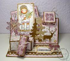 Geschenk-Karte mit Magnolia