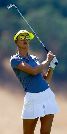 Michelle Wie Blue & White