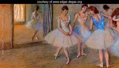 Dancers in the Studio - Edgar Degas - www.edgar-degas.org