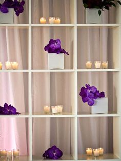 Go Minimalist    You don't need large, lush centerpieces to make a space feel filled. Small centerpieces or even single blooms arranged in the right way can create a clean, modern look.