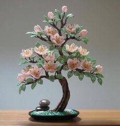 bonsai de mostacillas - Buscar con Google