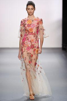 Jenny Packham Spring 2017 Ready-to-Wear Fashion Show