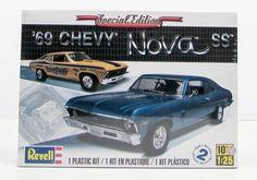 1969 Chevy Nova Revell 85-2098 1/25 New Car Model Kit - Shore Line Hobby