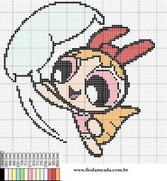 Cross Stitch Fairy, Cross Stitch For Kids, Beaded Cross Stitch, Cross Stitch Embroidery, C2c Crochet, Filet Crochet, Cross Stitch Designs, Cross Stitch Patterns, Lol Dolls