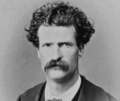 """The weather is too devilish hot to talk about love."" —Mark Twain (Sam Clemens in September Mark Twain, English Writers, World Literature, Interview, Writers And Poets, People Of Interest, Playwright, Inspirational Books, Special People"