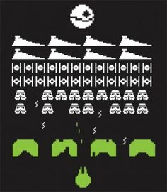 Star-Wars-Retro-Games-Space-Invaders