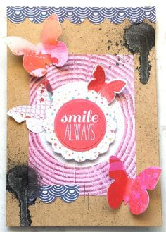 Kaisercraft : Chase Rainbows collection : Smile Always card by Amanda Baldwin