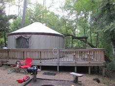 Want to go yurt camping?  What is a yurt?