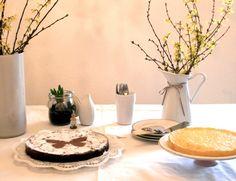 Schokoladen- und Quarkkuchen *