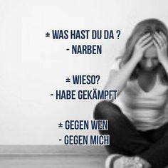 Bildergebnis für borderline ritzen schneiden zum... - #Bildergebnis #borderline #für #ritzen #schneiden #zum 2am Thoughts, Pain Quotes, Sad Life, Bad Feeling, Say More, Some Quotes, I Can Relate, Sentences, Depression