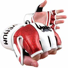 Venum Red Devil MMA Gloves - Skintex Leather not my viper green but what can Ya do?