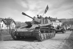 The SU-76 was a Soviet self-propelled gun used during World War II.