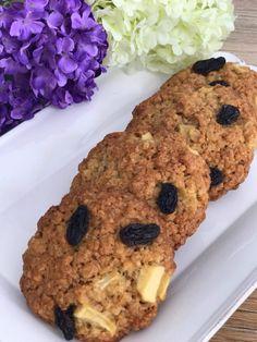 Galletas de avena con manzana y pasas | CocotteMinute