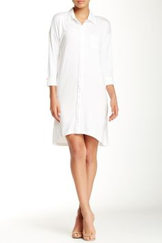 Whoa. This Knit Shirt Dress is such a steal. Always on the lookout for great basics.