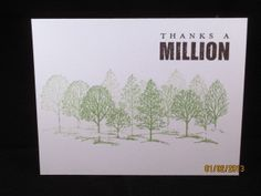 Lovely as a tree and word play stampin up sets