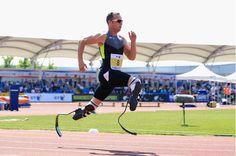 """Sport et handicap : la prothèse de jambe pour la course """"Le port ne connait pas de handicap, il ne connait que des barrières"""