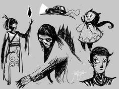 random characters