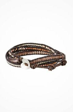 Chan Luu 32' Rose Gold Mix Wrap Bracelet #jewelry https://www.heeyy.com/464146d