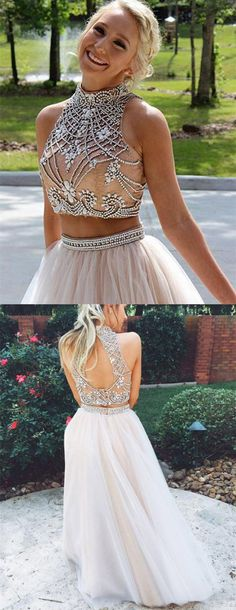 076b7d8af prom dresses,cheap two piece prom dresses,champagne prom dresses,sexy back  prom