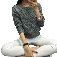 Cheap necklace dangle, Buy Quality retro gaming directly from China retro vii Suppliers: 2016 Women Casual Sweater Plaid Female Pullover O-neck Spring and Autumn Computer KnittedUSD 13.99/piece2016 Women Loose