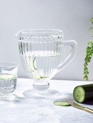 French Style Fluted Pitcher