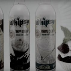 Wine infused whipped cream sounds like a dream come true!