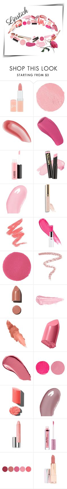 Summer lipstick: Nude & Rose 🌹 by onelittleme on Polyvore featuring beauty, Beautycounter, Christian Dior, L.A. Girl, MAC Cosmetics, Marc Jacobs, LAQA & Co., Burberry, Wander Beauty and Yves Saint Laurent