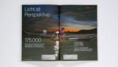 OSRAM Leuchtender Geschäftsbericht 2013 | KMS TEAM München