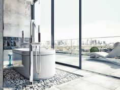 Ванная комната в стиле минимализм  Автор проекта - Елена Жанбаев
