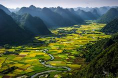 Bac Son Valley, Vietnam. The residents of this valley, situated in the heart of a rural district, greatly depend on agriculture.