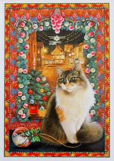 5-Lesley Anne Ivory, Christmas Cats