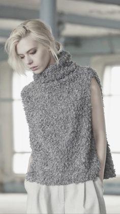 Would look great in boucle linen by Midara. Vika Gazinskaya F15