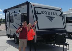 Ellie and Jared, life is about the journey!   We hope you enjoy your new vehicle from all of us at Sierra RV!
