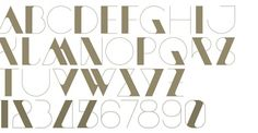 Beautiful font, type