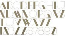 1920s Inspired type