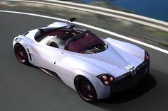 Pagani Huayra roadster renderings