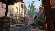 Ether One - FP Adventure Small street environment, lots of lighting, highly populated with props, key items stand out from environment  http://www.gog.com/game/ether_one_deluxe_edition (2014)