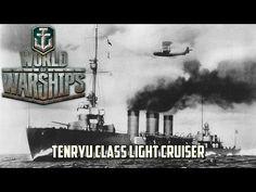 World of Warships - Tenryu Class Light Cruiser - YouTube