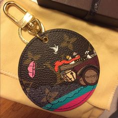 Authentic Louis Vuitton Evasion Bag Charm Keychain Brand new. Authentic. Purchased this one for my sister and she doesn't want it. Comes with box, dustbag, receipt and receipt holder. No trades and posh only. Not included in bundle discount! Louis Vuitton Accessories Key & Card Holders