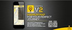 NOSTRA Digital Map แผนที่ออนไลน์ละเอียด ถูกต้อง แม่นยำ ทุกการเดินทาง