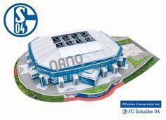 Maqueta Schalke Stadium
