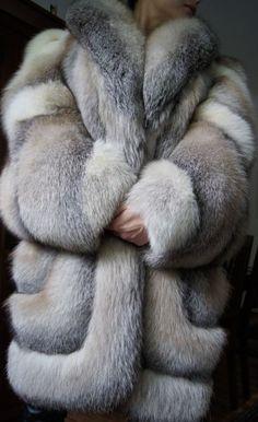 Soldes sale Manteau de Fourrure Gorille platine renard renard manteau renard veste fur coat шуба