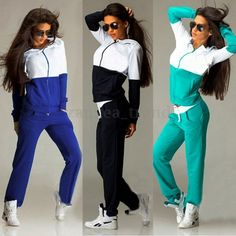 c60215182d16 ZANZEa Femme Fashion suits Vetement de Sport top Manteau Veste Capuche  Pantalon