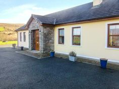 PRICE FROM £210.00 PW SLEEPS 5 BEDROOMS 3 BATHROOMS 1 PET FREE This well-presented detached cottage sits two miles from Kilgarvan in County Kerry, sleeping five people in three bedrooms.