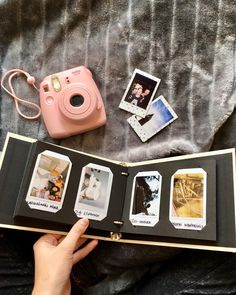 Polaroid Scrapbook Ideas Mini Albums Off We Go Instax Mini Album So Beautiful Love Love Love. Polaroid Scrapbook Ideas Mini Albums Instax Mini Album Instax Wedding Guest Book Instax Photo Album For. Instax Photo Album, Polaroid Photo Album, Instax Mini Album, Mini Polaroid, Polaroid Pictures, Polaroid Cameras, Handmade Scrapbook, Scrapbook Designs, Scrapbooking Layouts