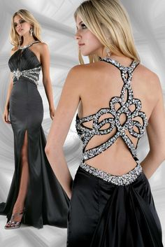 The back of this dress is absolutely gorgeous!