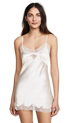 Buy Lingerie, Mini Slip, Silk Charmeuse, China Fashion, Vintage Black, White Lace, Lace Trim, Camisole Top, Casual