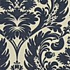 BIG LEAVES - ROBERT ALLEN FABRICS PRUSSIAN - Blue - Shop By Color - Fabric - Calico Corners