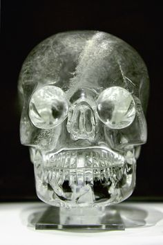 Crystal skull. One of thirteen found all around the world.Supposed to have special imprinted knowledge.
