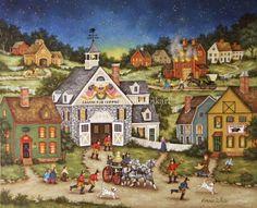 Bonnie White Folk Art ~ To The Rescue
